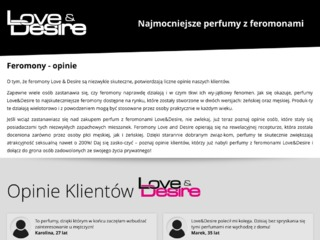 Love and Desire opinie